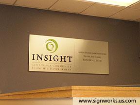 Insight Lobby Sign