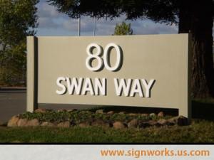 80 Swan Way Monument