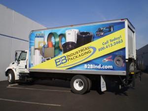 B2B Box Truck Wrap