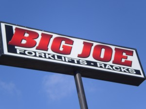 Big Joe Light Box Sign