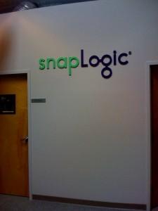 Snaplogic Lobby Sign