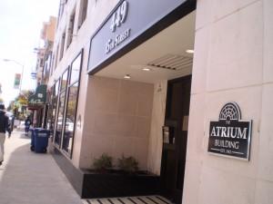 Atrium Brushed Aluminum Dimentional Letters & Plaques