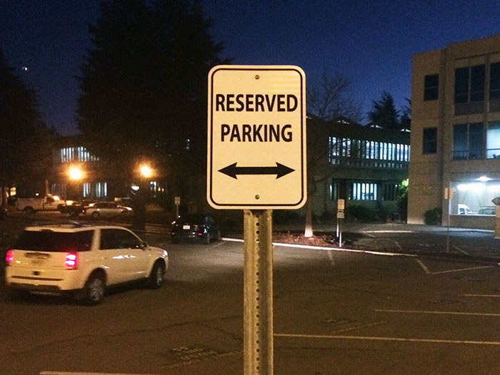 Parking Signs Hayward CA-